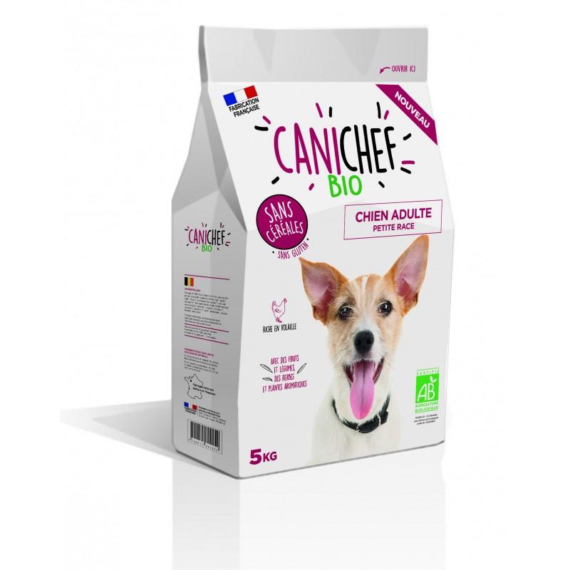 CANICHEF - Croquettes BIO Sans Cereales - Chien Petite Race